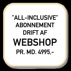 Webshop driftsabonnement