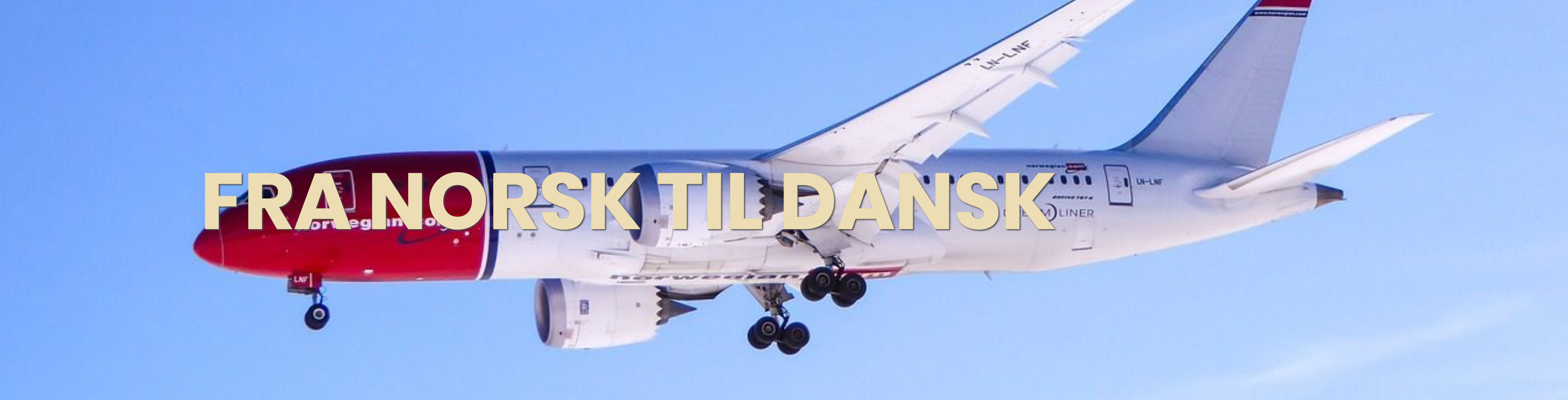 Oversættelse fra norsk til dansk